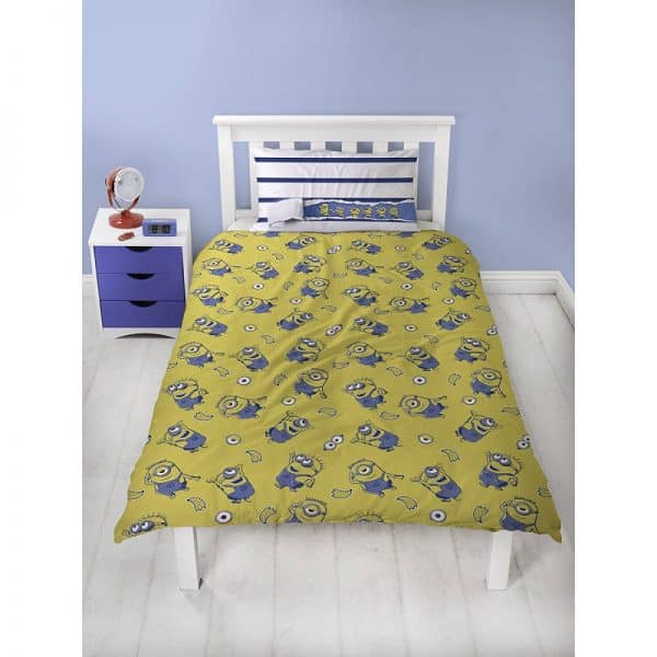 Despicable Me Awesome Single Duvet Cover Polycotton Reverse