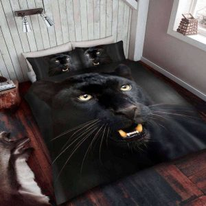 Black Panther Duvet Cover