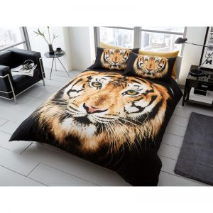 Tiger Face Duvet Cover