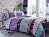 Charter Stripe Striped Single Duvet Cover
