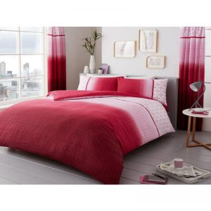 Urban Ombre Duvet Cover Pink