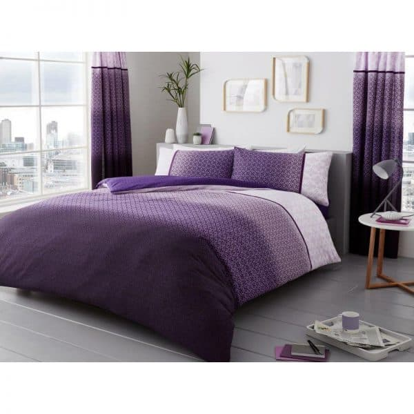 Urban Ombre Duvet Cover Purple