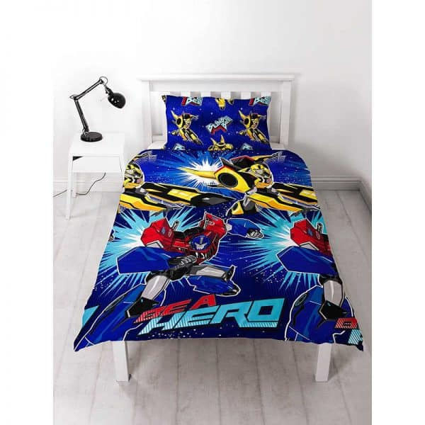 Transformers Hero Single Duvet Cover Front