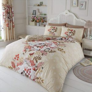 Wisteria Duvet Cover Natural