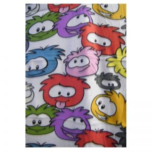 Club Penguin Fleece Blanket