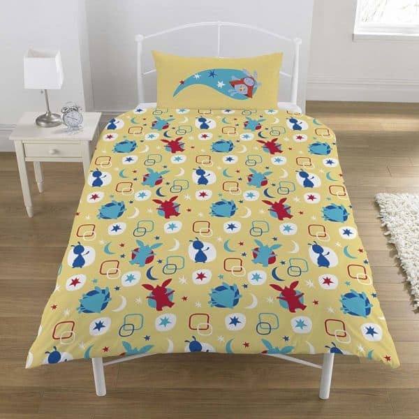 Bing Bunny Bedtime Single Duvet Cover Reverse