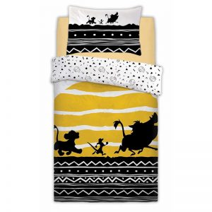 Lion King Tribal Sunrise Single Duvet Cover