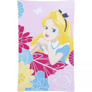 Alicia en el país de las maravillas Curious Fleece Blanket