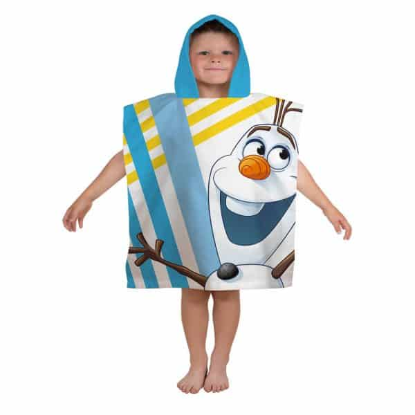 Disney Frozen Chillin Hooded Poncho Front
