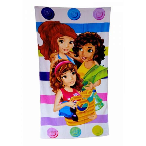 Lego Friends Spot Towel