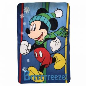 Mickey Mouse Brreeeze Fleece Blanket