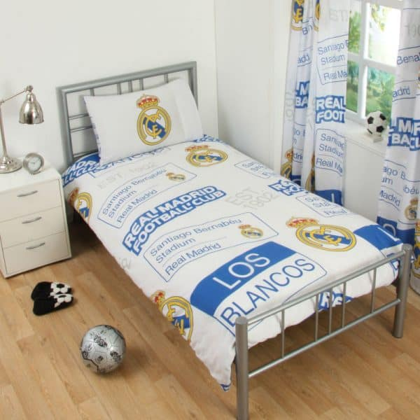 Real Madrid Patch Single Duvet Cover