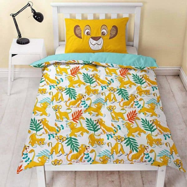 Disney Lion King Hakuna Single Duvet Cover Reverse