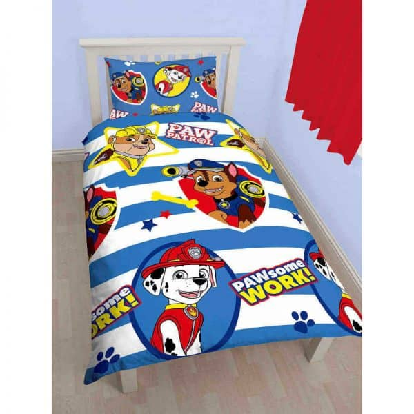Paw Patrol Pawsome Single Duvet Cover Front