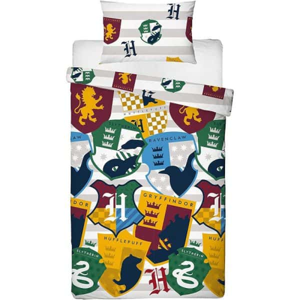 Harry Potter Stickers Single Duvet Cover Front
